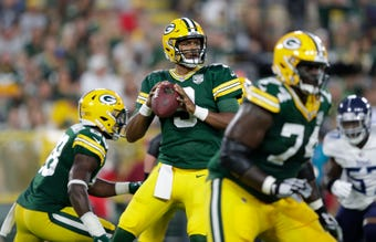 DeShone Kizer's performance through two preseason games puts him in the lead to backup Aaron Rodgers on the Green Bay Packers roster.