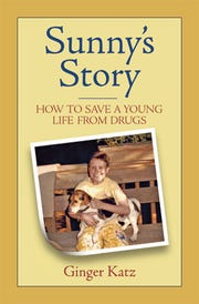 The book uses the perspective of the family dog to tell the story of drug addiction.