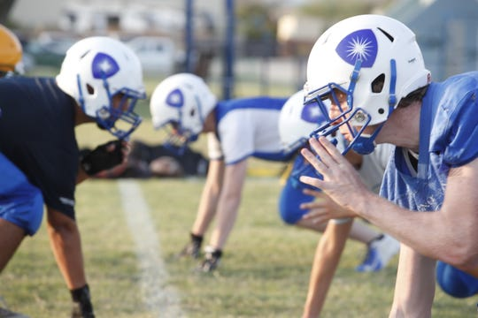 Desert Christian Academy football team will be an 11 man team.