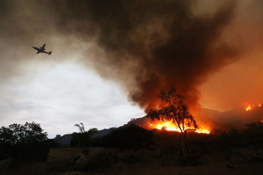 Record Heat Fuels Holy Fire In Southern California Threatening Homes