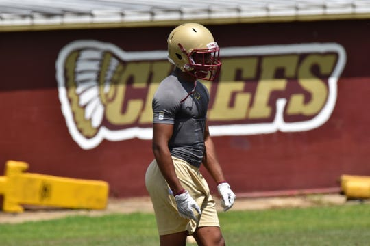 Northview sophomore Jayden Jackson led Chiefs in rushing last season and is already considered a college prospect.