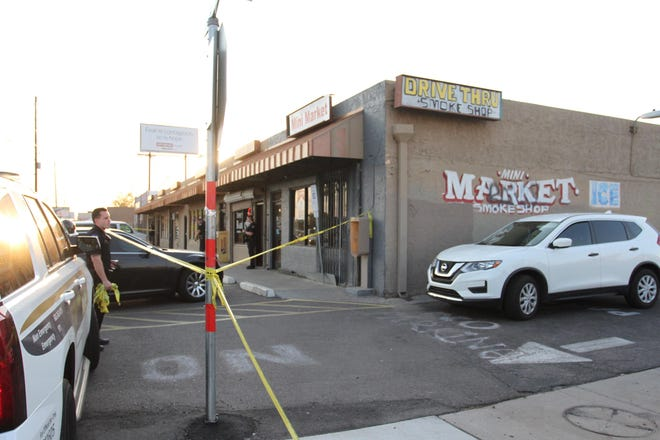 A man was pronounced dead at the scene near 30th Avenue and McDowell Road in Phoenix on Aug. 9, 2018.