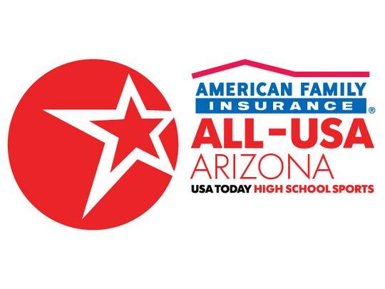 The American Family Insurance ALL-USA Arizona high school team.