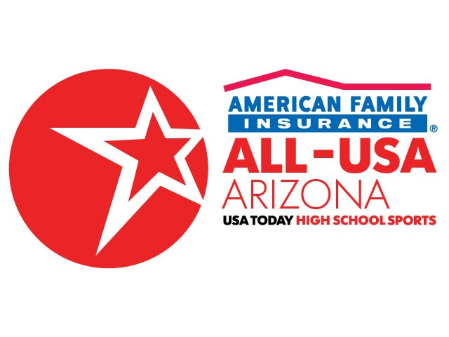 The American Family Insurance ALL-USA Arizona high school team.