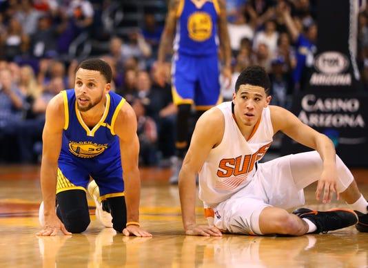 Nba Golden State Warriors At Phoenix Suns