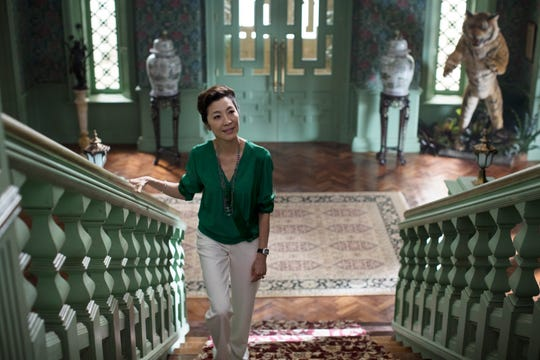 "Eleanor (Michelle Yeoh) is a controlling mother in ""Crazy Rich Asians."""
