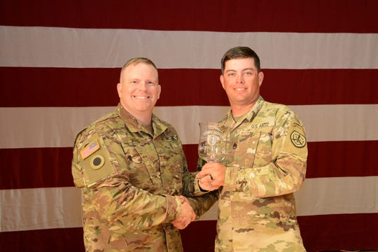 SSG David Bahten went on to win overall service rifle, with a score of 1990-107x.