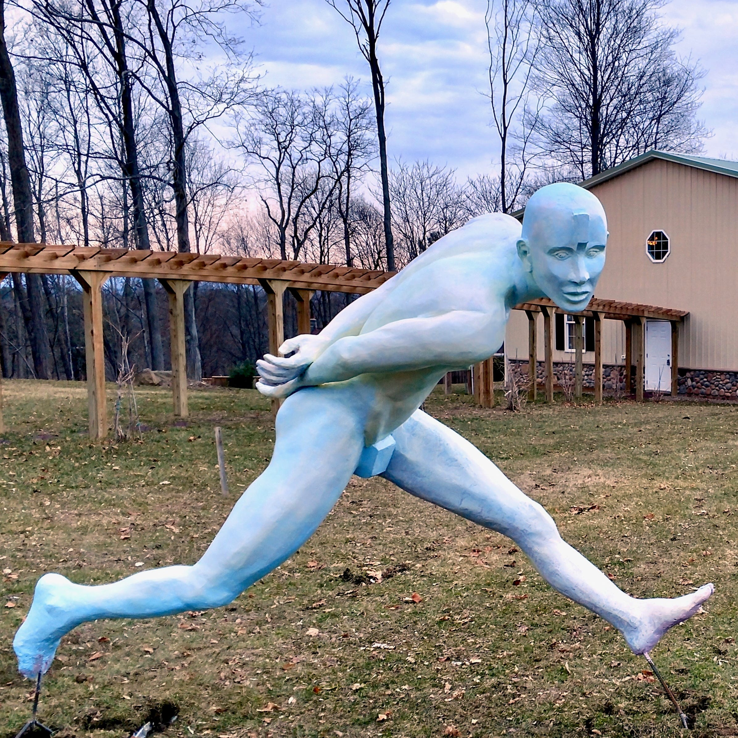 Emporium Sculpture Park features work by regional artists off Route 9 in Staatsburg