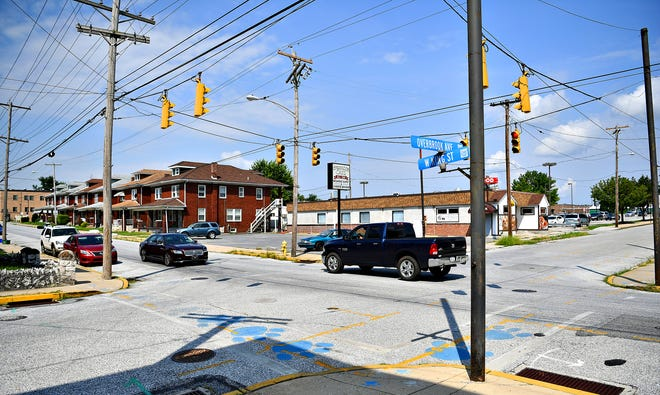 The intersection of West King Street and Overbrook Avenue in West York Borough, Friday, Aug. 10, 2018. Dawn J. Sagert