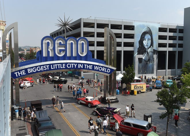 Images from Hot August Nights in downtown Reno on Friday August 10, 2018.