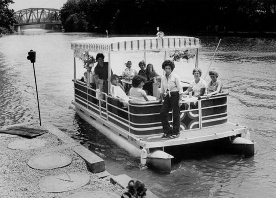June 19, 1979: Cafe Primo runs a barge trip down the canal.