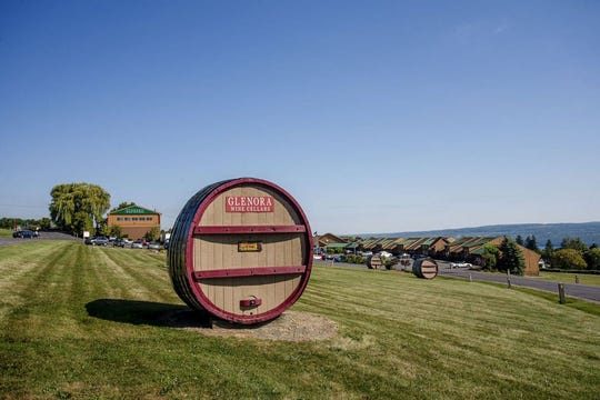 The scenic Glenora Wine Cellars.