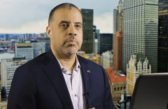 Larry Sharpe, Libertarian candidate for New York governor in 2018.