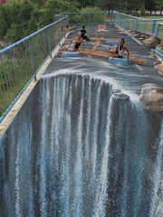 Plans for a 3-D painting on the High Falls observation platform would provide visitors with a fun photo-op.