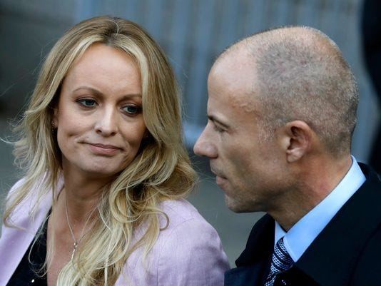 Stormy Daniels has canceled appearances this weekend at a Buffalo-area strip club. Her lawyer, Michael Avenatti tells the Buffalo News that the reason was security concerns, but wouldn't elaborate.