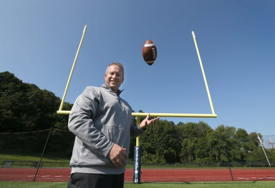 Pittsford athletic director Scott Barker, who became the Section V football chairman in 2017, also coached the Panthers.