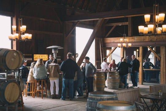 Ravines Wine Cellar tasting room .