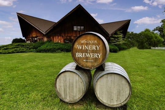Wagner Vineyards on the Seneca Lake Wine Trail