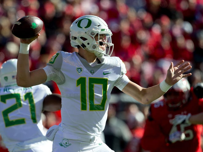 Oregon's Justin Herbert enters the 2018 season as one of the premier quarterbacks in college football and a potential Heisman Trophy candidate.
