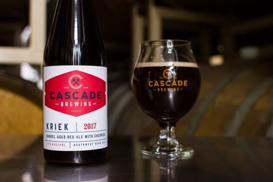 Cascade Brewing specializes in brewing sour and barrel-conditioned beers, including Kriek, made with locally-grown cherries.