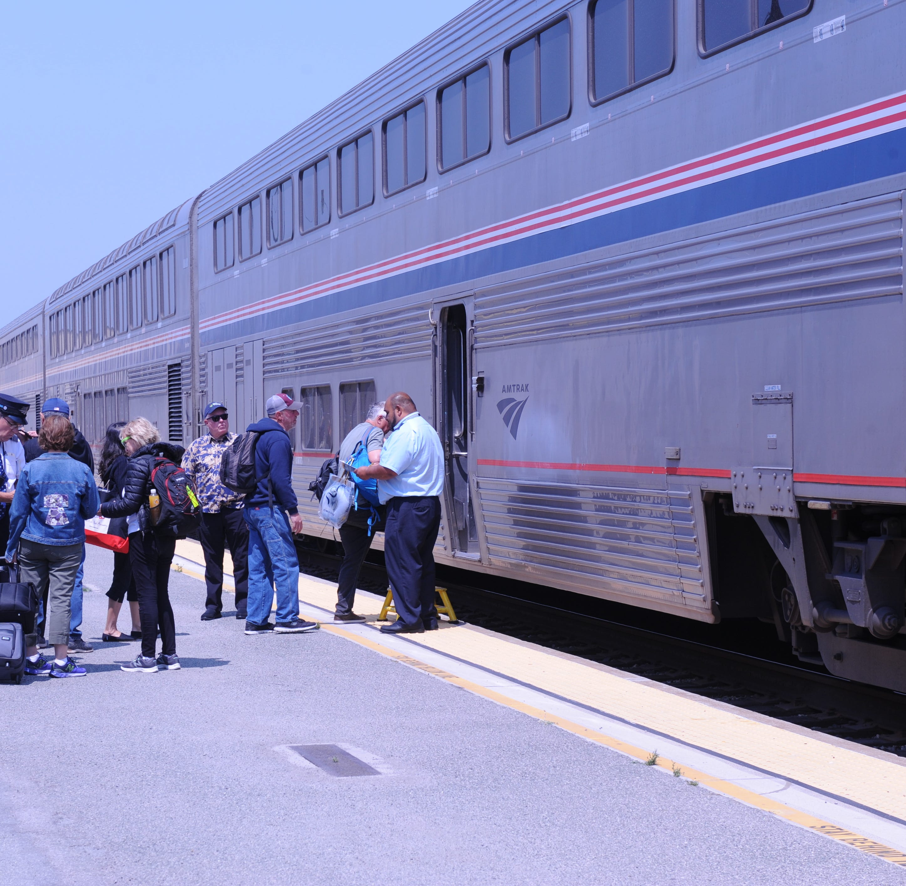 'Love Train': Amtrak offers trip for two with Valentine's Day-themed sale