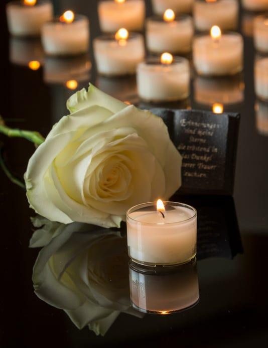 Card Funeral Background Dark Memorial