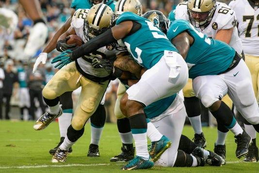 Nfl New Orleans Saints At Jacksonville Jaguars