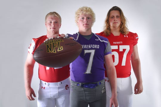 Football media day Tuesday, Aug 7, at Argus Leader Media in Sioux Falls.
