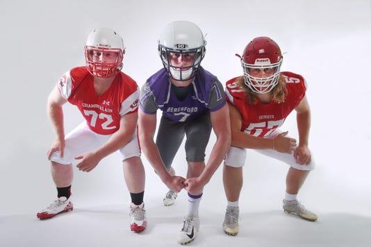 High School Football Media Day Linemen 002