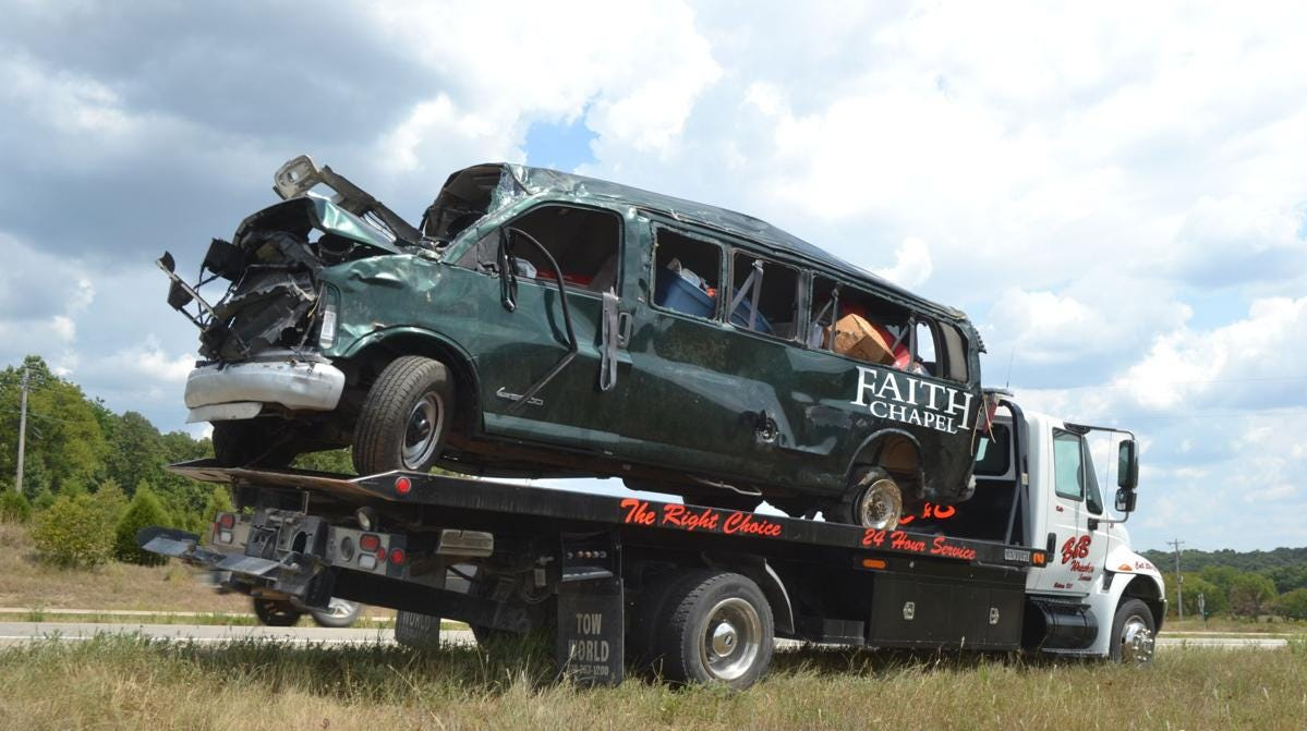 Two more crashes, four more deaths. Why are churches still using unsafe vans?