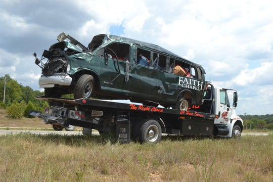 A crash occurred Friday on Highway 13 in Polk County.