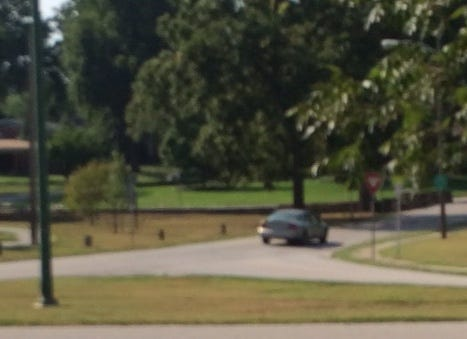 A Springfield woman said the driver of this silver sedan — an overweight white man with bushy brown hair and a beard — slapped her buttocks while she walked her dog near Phelps Grove Park in central Springfield at about 10 a.m. Friday, Aug. 10, 2018. Police said the car was last seen in the area more than two hours later, at 12:15 p.m.