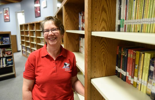 Sharon Macy is an AmeriCorps reading tutor at Pleasantview Elementary School in Sauk Rapids.