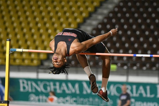 Frank Harris III, SUU's high jump record holder, is embarking on his first football season.