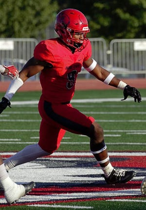 Dixie State's Mike Jones is leading the Trailblazers' defense.