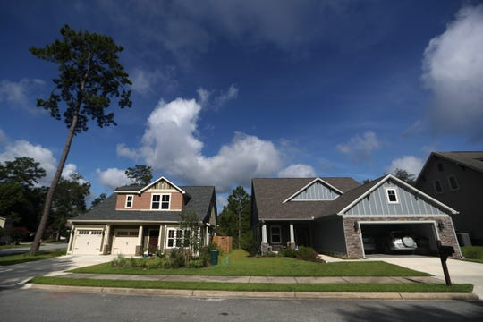The Evening Rose neighborhood on Tallahassee's east side has seen growth in new housing construction over the last few years.