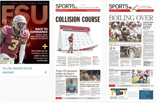 Winning Sports Pages