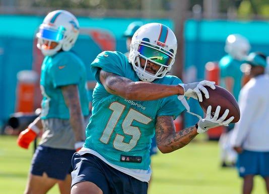 Albert Wilson Dolphins Practice
