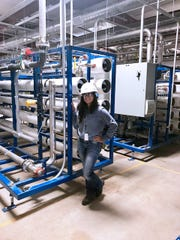 Thank Stephanie Lopez the next time you turn on a light switch or enjoy the comfort of your central air on a hot summer day. As a chemical engineer for El Paso Electric, she is helping to make sure that safe, reliable electricity isn't something you have to think about.