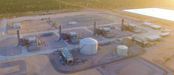 Lopez recently completed her first major project for the company, a back-up reverse osmosis water-treatment system for the Montana Power Station, which borders Fort Bliss about one mile east of El Paso city limits.