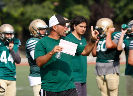 Head coach Tony Henney and St. Bonaventure look to go to 3-0 with a win at Highland on Friday night.