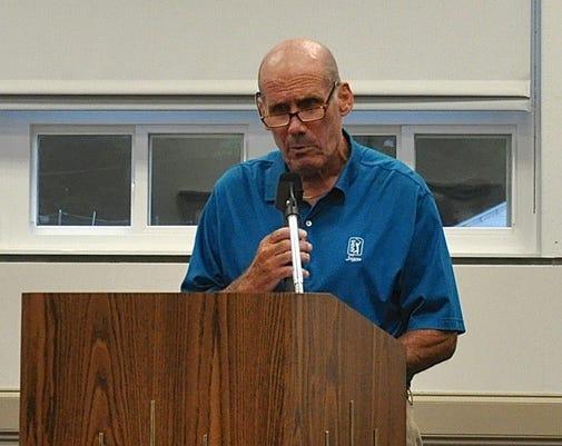 Coach Joe Biddy Defends His Record During Aug 9 2018 Suffern School Board Meeting