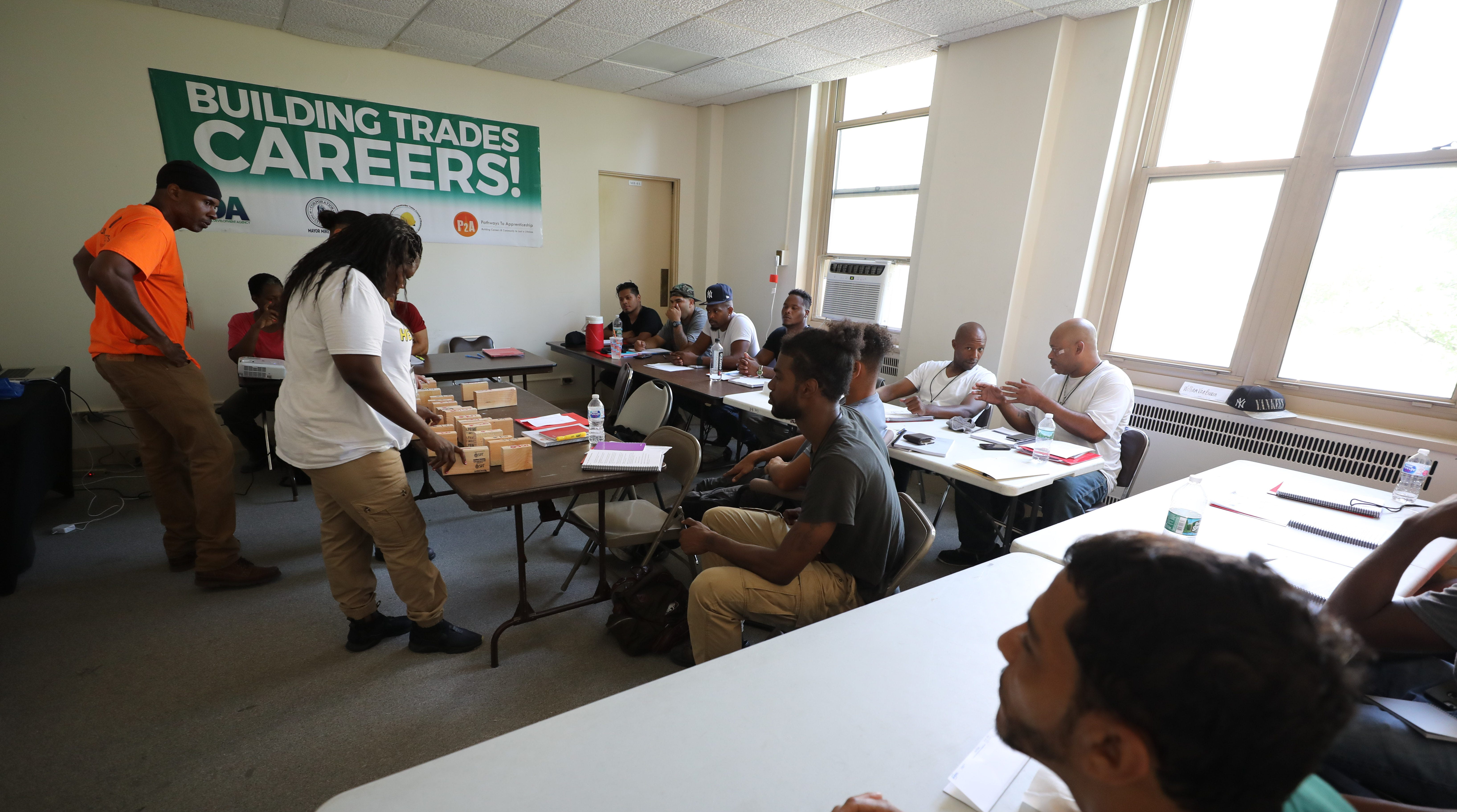 Yonkers students get trained for building trades through IDA program