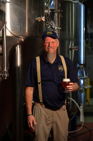 Ronnie Price, founder of Blue Earl Brewing in Smyrna.