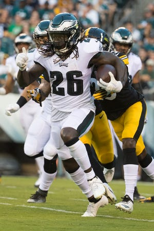 Eagles running back Jay Ajayi is expected to sit out Thursday night against the Cleveland Browns.