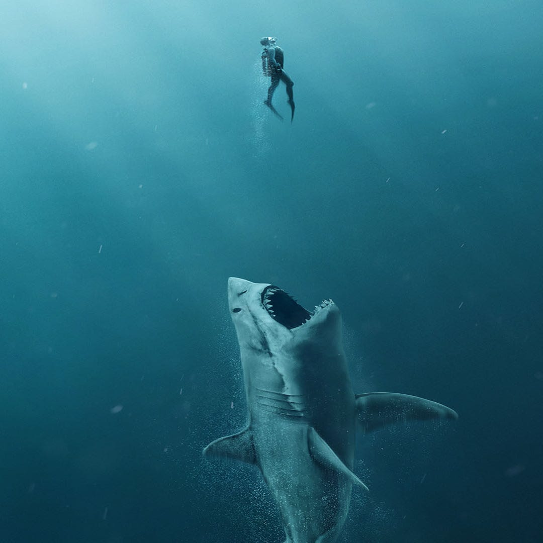 This University of Delaware graduate is behind the 75-foot shark in Jason Statham's new film 'The Meg'