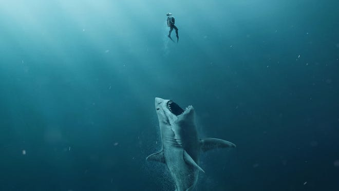"""The Meg,"" a new horror film about a 75-foot shark, is based on a book by a University of Delaware graduate."