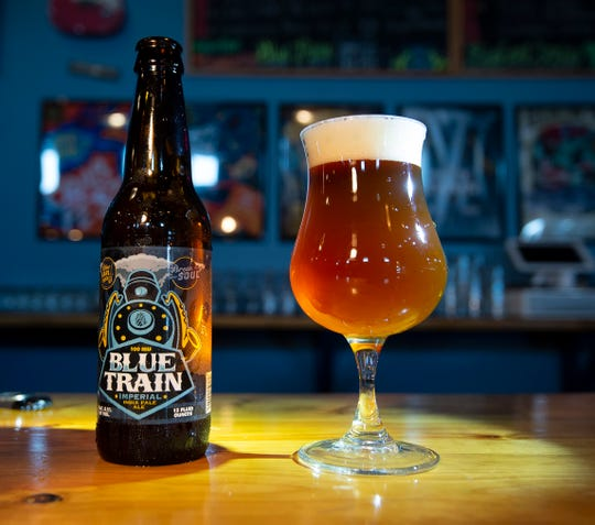 Blue Train by Blue Earl Brewing in Smyrna was a runner-up in a recent News Journal beer poll.