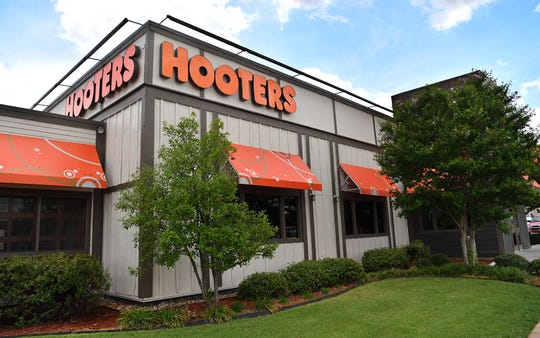 A new Hooters restaurant opened this week in the former Logan's Roadhouse location on Call Field Road.