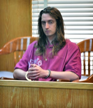 Kody Lott appeared in 30th District Court Friday afternoon for a bench conference to finalize a change of venue and related matters.